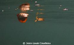 """""""Red, sinking feeling"""" by Jean-Louis Courteau"""