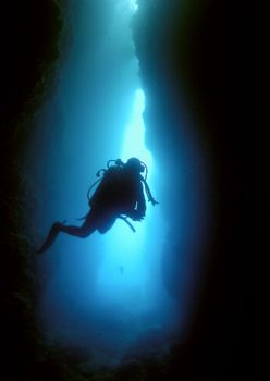 Inner Sanctum. Cathedral cave, Vanuatu. by Richard Harris
