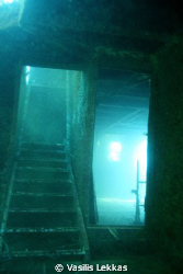 Stairway to . . . Shallow wreck in Lesvos Island. by Vasilis Lekkas