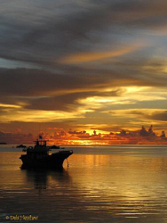 Manado Sky - taken from the jetty at Tasik Ria with Canon G9 by Debi Henshaw
