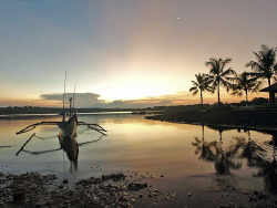 Outrigger, Bali by Doug Anderson