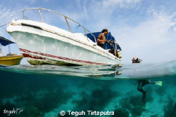 Taken at Kappoposang Island, Makassar, Indonesia by Teguh Tirtaputra
