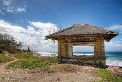 """""""House With A View"""" on the shore of south Bali, view at N... by Marco Waagmeester"""