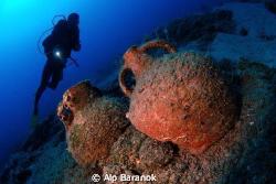 I took this photo @ Bodrum, Barracuda Bay. by Alp Baranok
