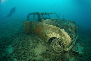 Wreck of R4 near Island Kosara by Andy Kutsch