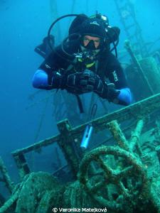 My friend above wreck by Veronika Matějková