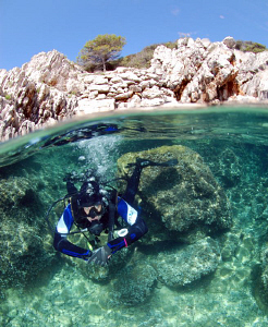 Start of the dive at Divesite Zaglav near pasman by Andy Kutsch