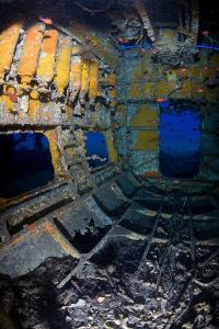 Wreck of a Heinkel HE-111 - Corsica. by Jim Garland