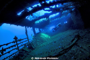 """The wreck """"Umbria"""" has a cargo of 360.000 bombs that ma... by Aleksandr Marinicev"""