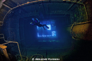 """The wreck """"Umbria"""" has a cargo of 360.000 bombs that make... by Aleksandr Marinicev"""