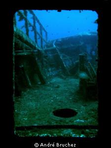 Door towards the past by André Bruchez