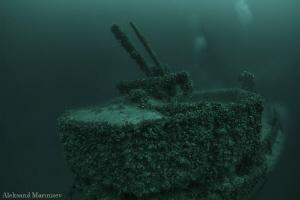 """""""Varna"""" German Cargo Ship, deph 56m by Aleksandr Marinicev"""