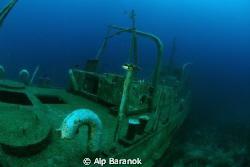 SG-115 ship wreck @ Bodrum/Turkiye. by Alp Baranok
