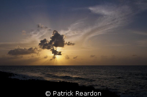 Sunset in Grand Cayman.  I really liked the light that ev... by Patrick Reardon