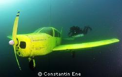 """My 3. dive in Kreidesee Hemmoor, Germany. Foto: the """"Alan... by Constantin Ene"""
