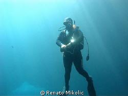 underwater spaceman by Renato Mikolic