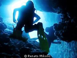taken in passage through cliff by Renato Mikolic