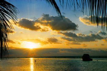 Cayman Island Sunrsie by Eric Bancroft