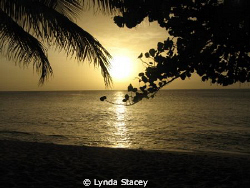 The most beautiful sunset I ever saw on the beach of the ... by Lynda Stacey