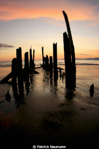 sunset @ the old pier/Koh Chang by Patrick Neumann