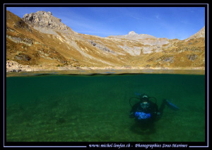 This week-end High Altitude Lake Diving... with beautiful... by Michel Lonfat