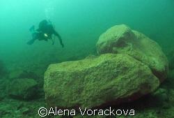 Austria (Europe) mountain lake - Gossau. Beautiful dive... by Alena Vorackova