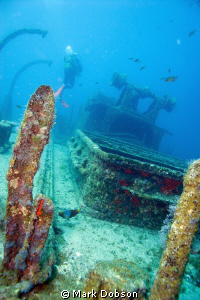 The wreck of the Condesita taken with EOS 20d using EF 20... by Mark Dobson