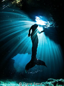 I ever thought that mermaids are not real...so what ??? by Dave Benz