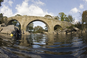 Devils bridge. River Lune. D3, 16mm. by Derek Haslam