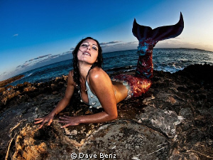 What a beautiful mermaid... by Dave Benz
