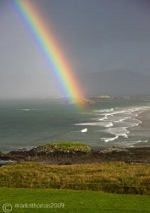 Rainbow over Lettergesh, Connemara. Last weekend - betwee... by Mark Thomas