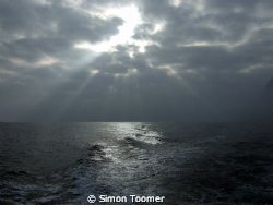 Home from the Dive, October by Simon Toomer