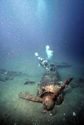 Rabaul Zeke.  Deep and murky, but worth the effort to fin... by Rick Tegeler
