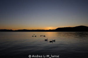 Sunset, Lake Tahoe by Andres L-M_larraz