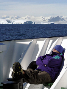 A snooze in the sun on a nice warm antarctic day... take ... by Andrew Macleod