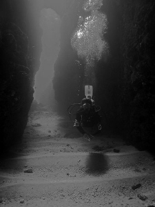 My friend John Chapman from World Diving Lembongan in the... by Christian Nielsen