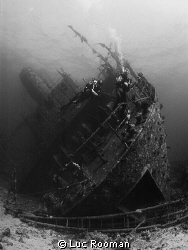 Majestic Giannis D Top Wreck in Red Sea by Luc Rooman