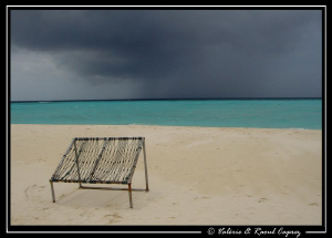 Today, nobody is on the chair ... why ? by Raoul Caprez