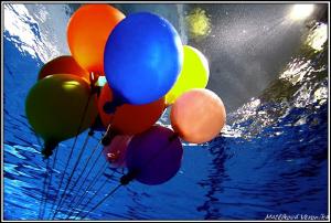 Balloons by Veronika Matějková