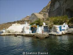 Sirmata Milos island Greece by Ioannis Davios