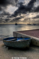 The Port at Bonaire by George Ordenes