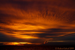 "Raja Ampat-""Sky on fire"" by Richard Goluch"
