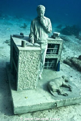 The Dream collector by Jason Decaires Taylor