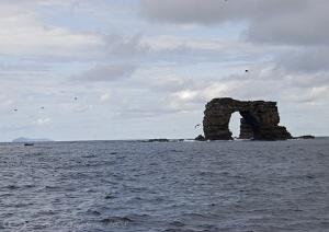 Darwins arch. Galapagos. S5PRO, 18-200mm. by Derek Haslam