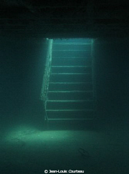 """Stairway To Heaven"" - The main stairway on the sunken ""A... by Jean-Louis Courteau"