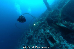 "Brother Islands, ""Numidia"" wreck.May 2007. by Rafal Raszewski"