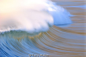 Painting with light and motion by Tony Makin