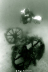 Lake Bajkal. Old russian wreck by Sergiy Glushchenko
