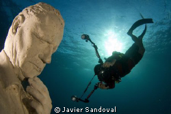 "Esculpture named ""the dream collector"" 1 of the 400 escul... by Javier Sandoval"