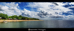 """""""A Beautiful Morning""""  Sanur, the place where i live at... by Marco Waagmeester"""
